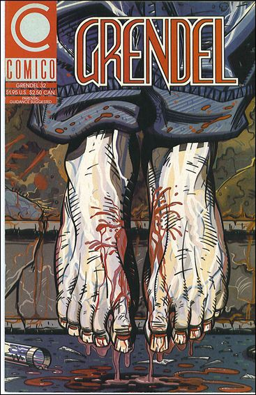 Grendel (1986) 32-A by Comico