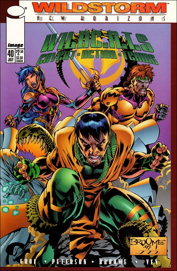 WildC.A.T.s: Covert Action Teams 40-C by Image