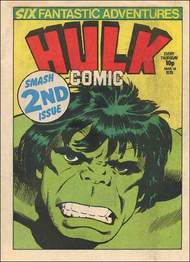 Hulk Comic (UK) 2-A by Marvel UK