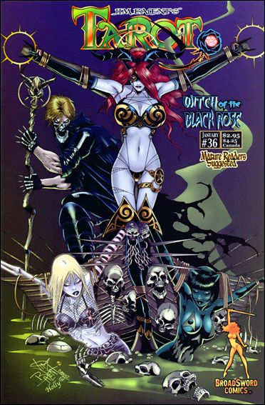 Tarot: Witch of the Black Rose 36-A by BroadSword Comics