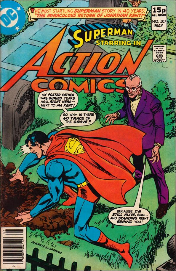 Action Comics (1938) 507-C by DC