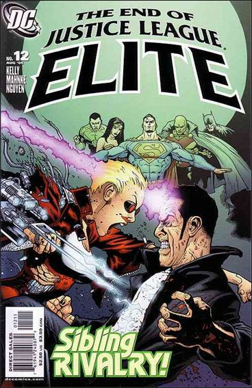 Justice League Elite 12-A by DC