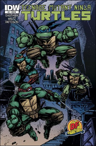 Teenage Mutant Ninja Turtles (2011) 21-G by IDW