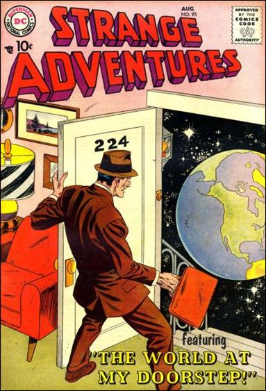 Strange Adventures (1950) 95-A by DC