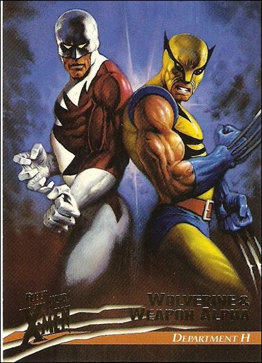1996 Fleer Ultra X-Men: Wolverine (Base Set) 18-A by Fleer