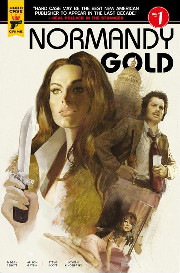 Normandy Gold 1-A by Hard Case Crime