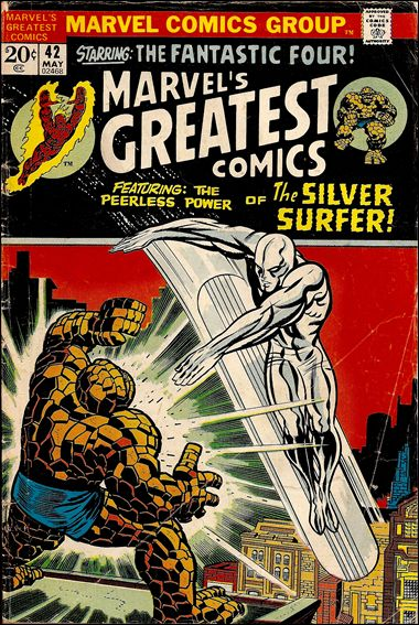 Marvel's Greatest Comics 42-A by Marvel