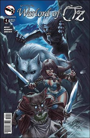 Grimm Fairy Tales Presents Warlord of Oz 4-A