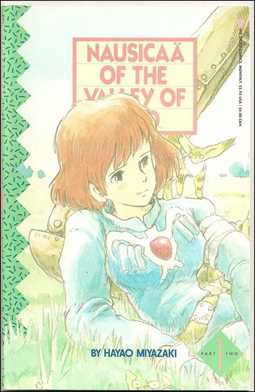 Nausicaä of the Valley of Wind Part 2 1-A by Viz