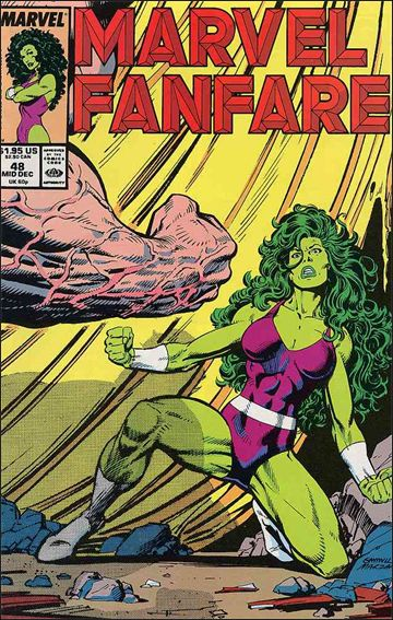 Marvel Fanfare (1982) 48-A by Marvel
