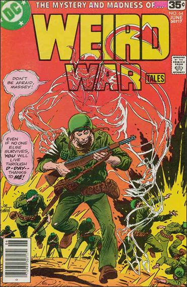Weird War Tales (1971) 64-A by DC