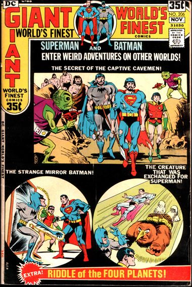 World's Finest Comics 206-A by DC