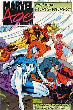 Marvel Age 132-A by Marvel
