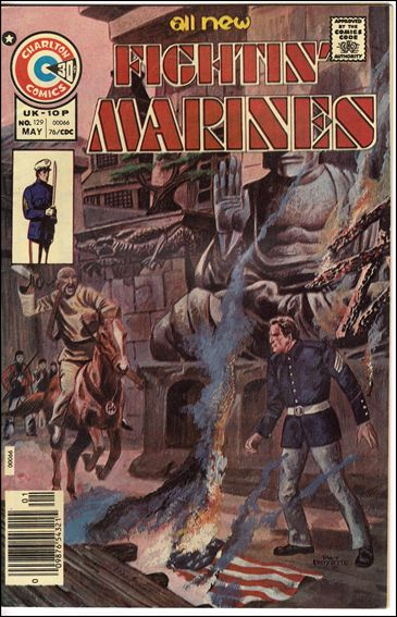 Fightin' Marines (1953) 129-A by Charlton