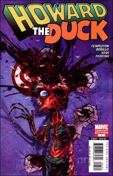 Howard the Duck (2007) 1-B by Marvel