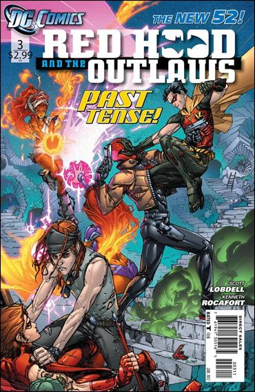Red Hood and the Outlaws (2011) 3-A by DC