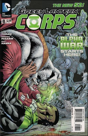 Green Lantern Corps (2011) 8-A by DC