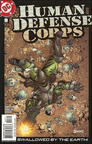 Human Defense Corps 3-A by DC
