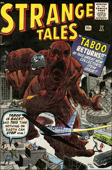 Strange Tales (1951) 77-A by Marvel