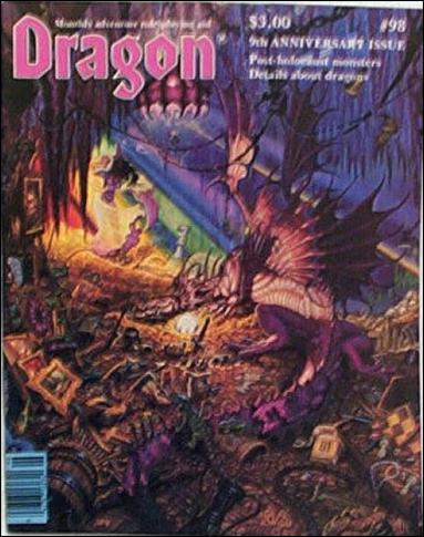 Dragon Magazine 98-A by Wizards of the Coast