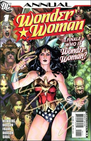 Wonder Woman Annual (1987) '1'-A by DC