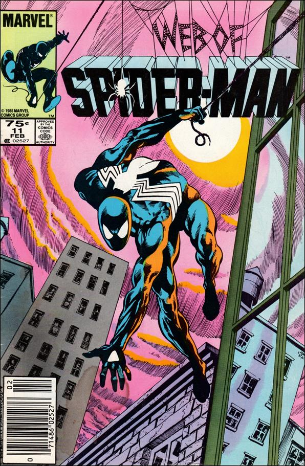 Web of Spider-Man (1985) 11-A by Marvel