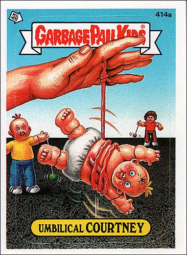 Garbage pail kids series 10 base set 414a a by topps