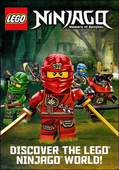 LEGO Ninjago Masters of Spinjitzu Comic Book by LEGO Title Details