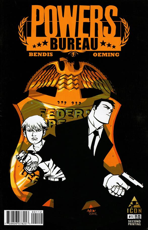 Powers: The Bureau 1-D by Icon