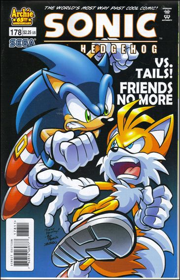 Sonic The Hedgehog 178 A Sep 2007 Comic Book By Archie