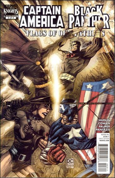 Captain America / Black Panther: Flags of Our Fathers 3-A by Marvel
