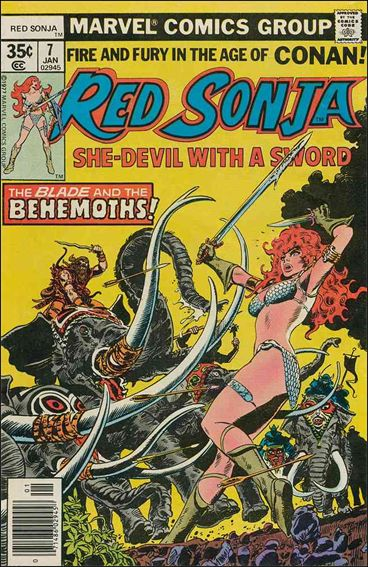 Red Sonja (1977) 7-A by Marvel