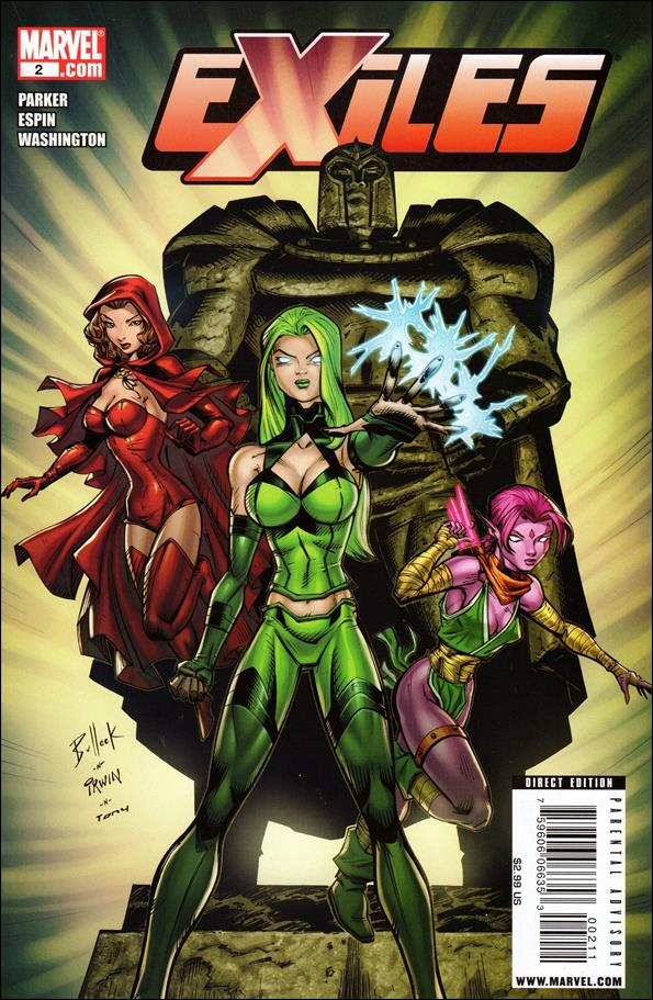 Exiles (2009) 2-A by Marvel