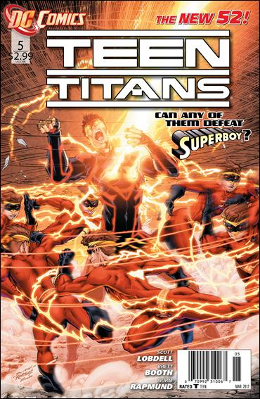 Teen Titans (2011) 5-A by DC