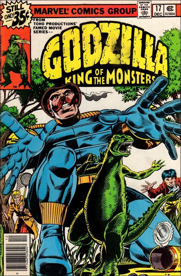 Godzilla (1977) 17-A by Marvel
