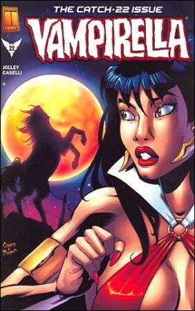 Vampirella (2001) 22-A by Harris