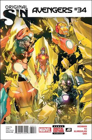 Avengers (2013) 34-A