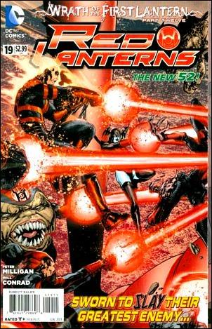 Red Lanterns 19-A by DC
