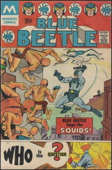 Blue Beetle (1967) 1-B by Charlton