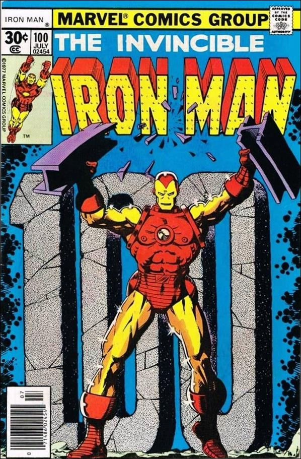 Iron Man (1968) 100-A by Marvel