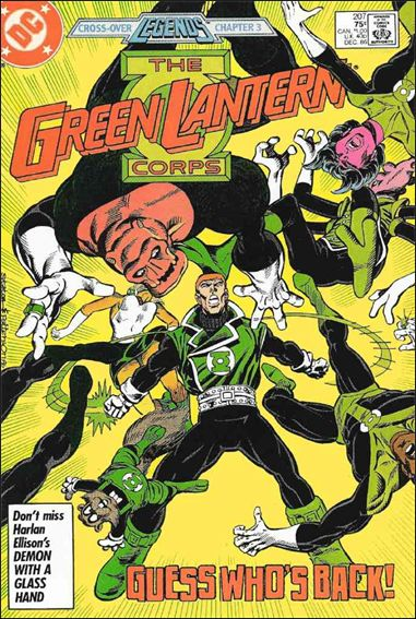 Green Lantern Corps (1986) 207-A by DC