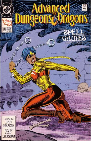 Advanced Dungeons & Dragons 15-A by DC