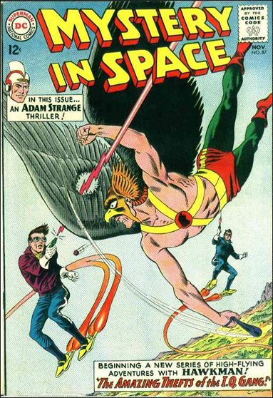 Mystery in Space (1951) 87-A by DC
