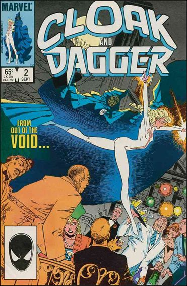 Cloak and Dagger (1985) 2-A by Marvel
