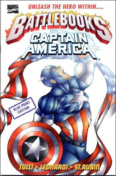 Captain America Battlebook: Streets of Fire 1-B by Marvel