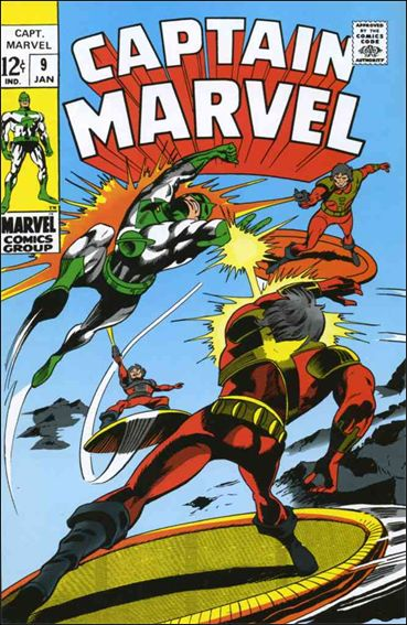 Captain Marvel (1968) 9-A by Marvel
