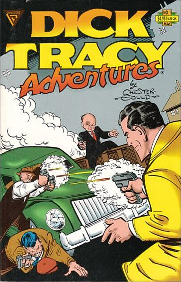 Dick Tracy Adventures 1-A by Gladstone
