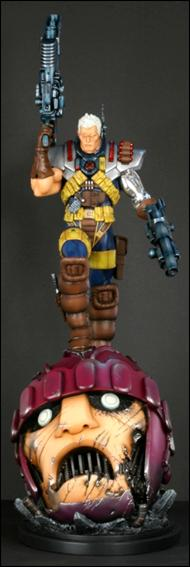 Marvel Statues (Bowen) Retro Cable 1/250 by Bowen Designs