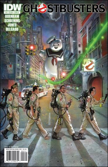 Ghostbusters (2011) 2-B by IDW