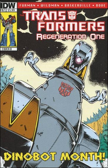 Transformers: Regeneration One 82-B by IDW